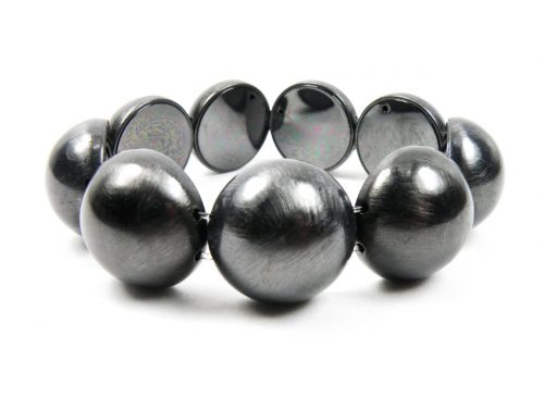 Armband-elastisch-Kupfer, Beschichtung Haematit