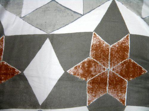 Schal Viskose grau weiß braun