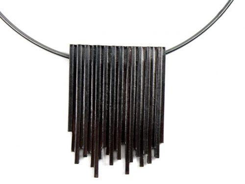 Halskette Hämatit beschichtet mit Anhänger