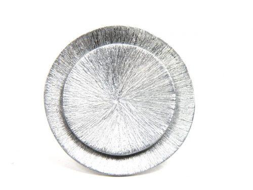 Ring scratched Aluminium rund