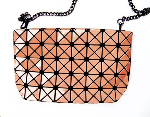Tasche Geometric rosa