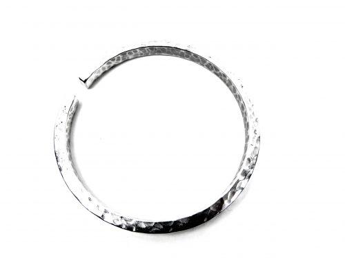 Armband Aluminium gehämmerte Oberfläche Effekt