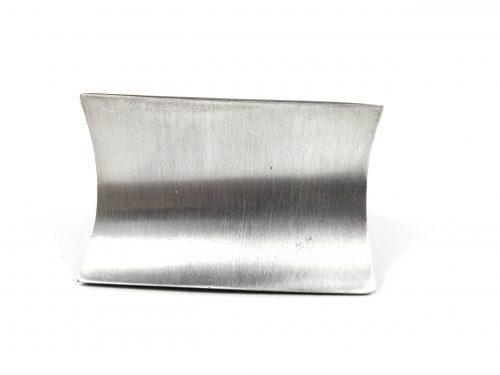 Ring Ebenholz mit Silber 1